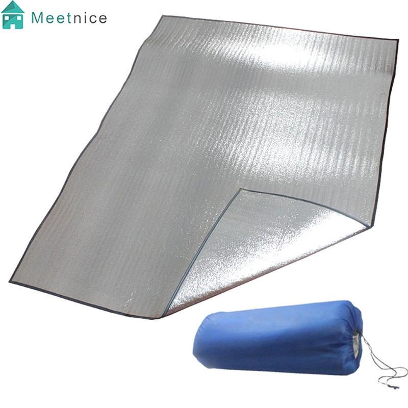 1X Outdoor Camping Picnic Sleeping Mattress Pad Waterproof Aluminum Foil EVA Mat