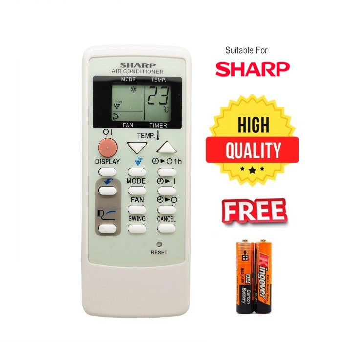 Sharp Air Cond Remote Control for sharp aircond replacement A751JBEZ