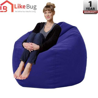 Remarkable Like Bug 2 5Kg Japanese Style Laid Back Fluffy Comfy Fabric Bean Bag Sofa Caraccident5 Cool Chair Designs And Ideas Caraccident5Info