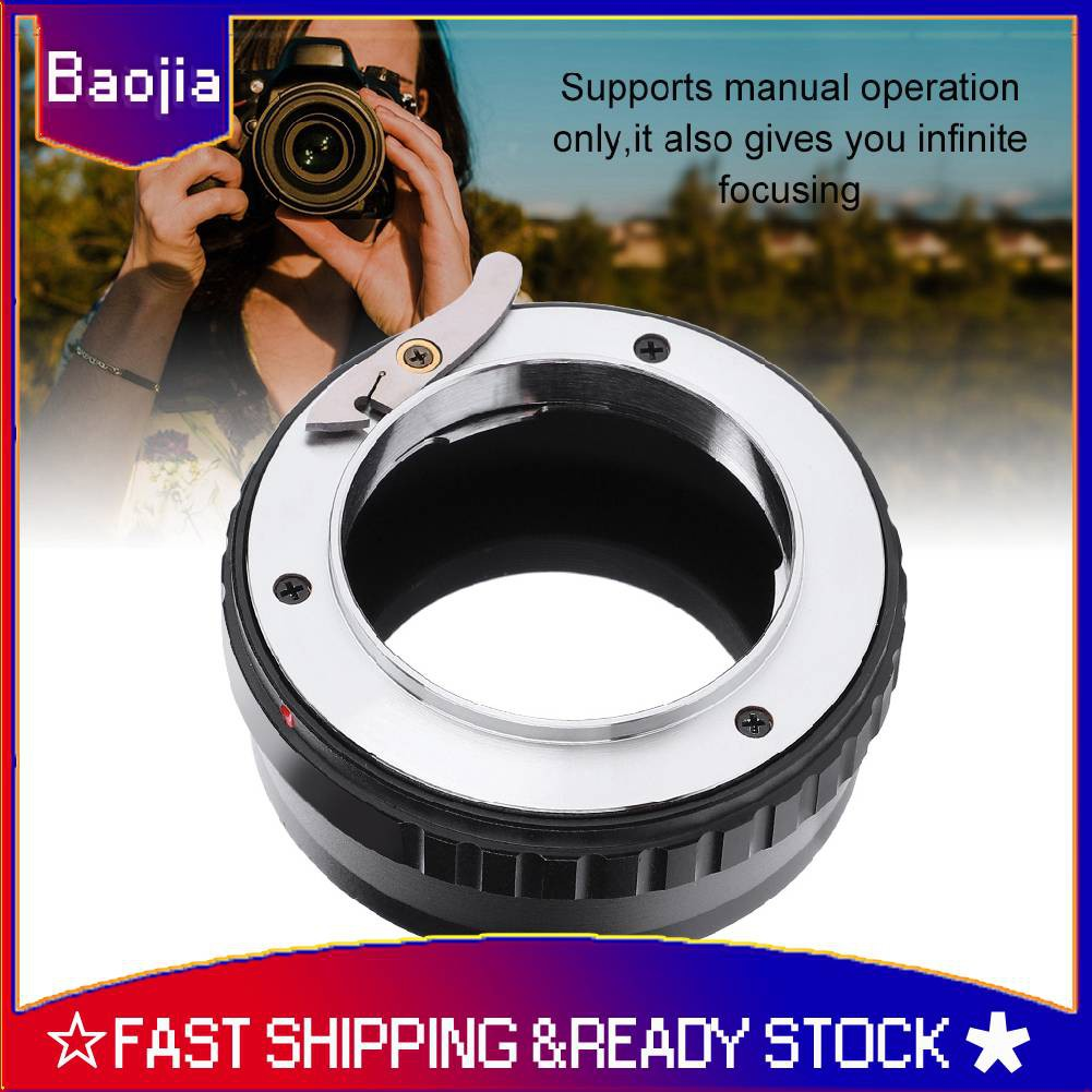 VBESTLIFE Durable Infinity Focus Lens Focus Controlling for Canon EOS EF Mount Lenses Camera to Canon EOS M Mirrorless Cameras Full Manual Operation EOS-EOS M Camera Lens Adapter Ring