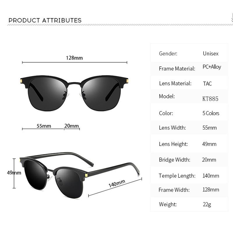 3794 New Mens Womens  Polarized Designer Vintage UV400   Sunglasses
