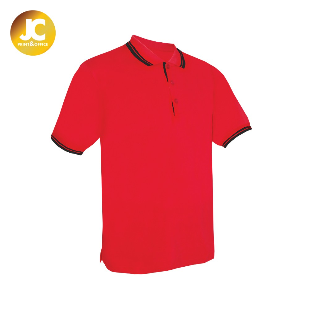 d0424f55d2d2 KINGS Unisex Polo Tee - Black   Red (Clearance Stock) PT03