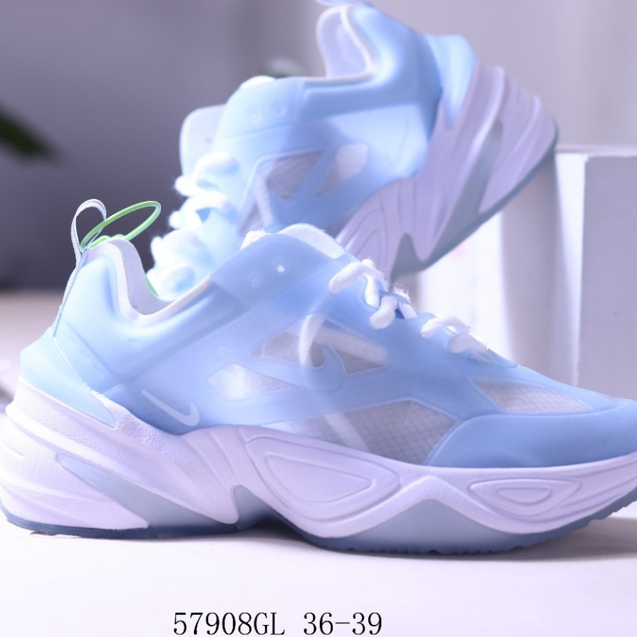 Predecir Asumir Mirar  Ready Stock Nike M2K Tekno Women's Translucent Shoes Mesh Yarn Retro Daddy  Shoes Goddess Color Matching Summer Shorts Fried Chicken Shows Long Legs |  Shopee Malaysia