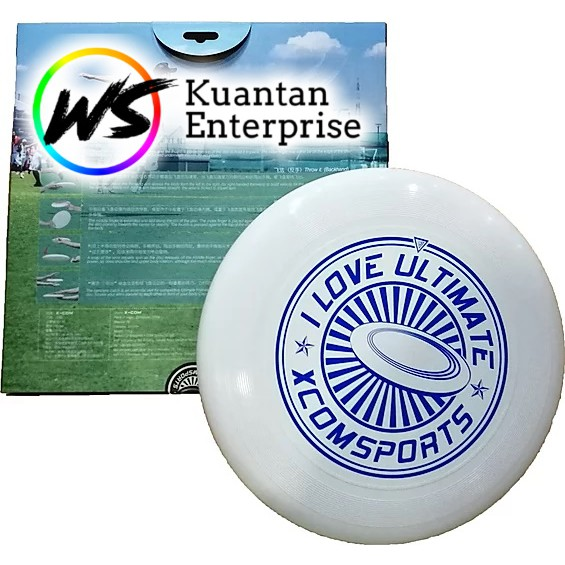 【100% Ready Stock】X-COM Ultimate Frisbee | Flying Disc (175g)