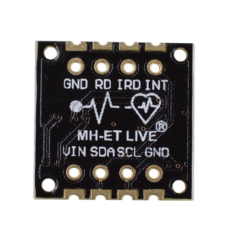 Breakout Accessories 2 LED Heart Rate Pulse Blood Oxygen Mini Low Power MAX30100 Sensor Module