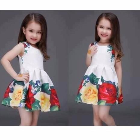 European style  Princess  Dress  For Little Girls