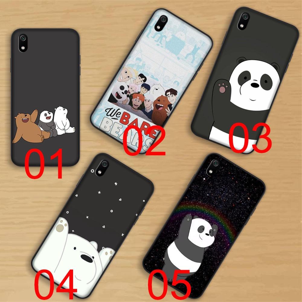 Black Soft Case Xiaomi Redmi Note 5a 5 Pro 5 Plus 5a Prime We Bare Bears 1 Shopee Malaysia