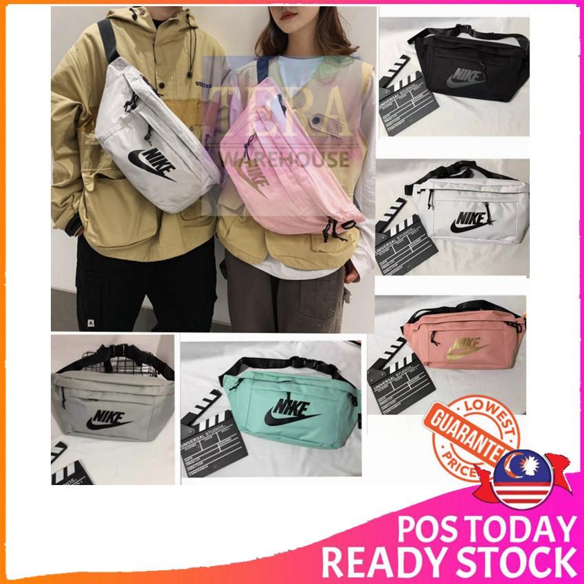 Ready Stock Tera Nike Tech Hip Pack Waist Bag Chest Bag Large Casual Shoulder Crossbody Bag Cr010 Shopee Malaysia