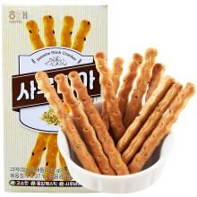 Korea Haitai Sarubia Sesame Stick Cracker 60g 韩国海太全麦芝麻饼干 60g Grain Cracker Stick / Healthy Multi Grain Cracker / 통밀사루비아