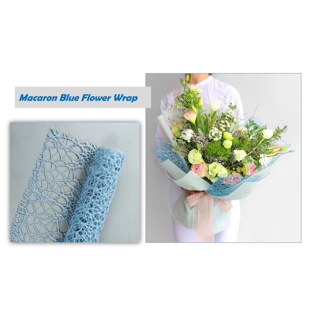 20pcs Plastic Feather Bouquet Flower Wrapping Wedding Party Decor 60 x 60cm