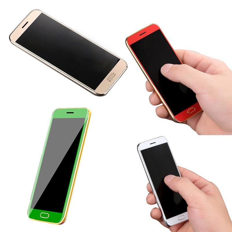 Ultrathin Luxury Anica T7 Super Mini Card Cell Phone With Mp3 Bluetooth 1.63 Inch Dual Sim Card