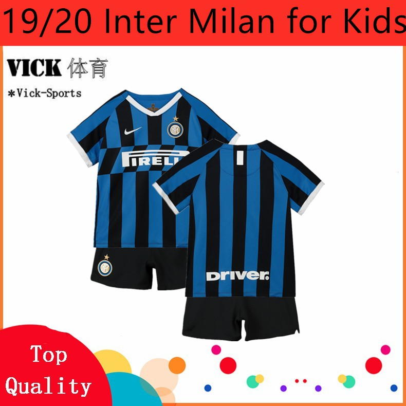 info for 64259 e89f0 (FREE SOCKS) 19/20 A Set jersey Children Inter Milan Home Away 3rd Football  jersi Boys For Kids Children Kit