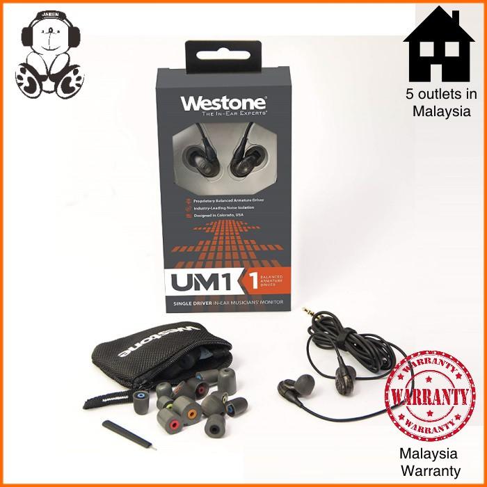 Westone UM 1 Pro Revised MMCX Single BA IEM In-Ear Earphones
