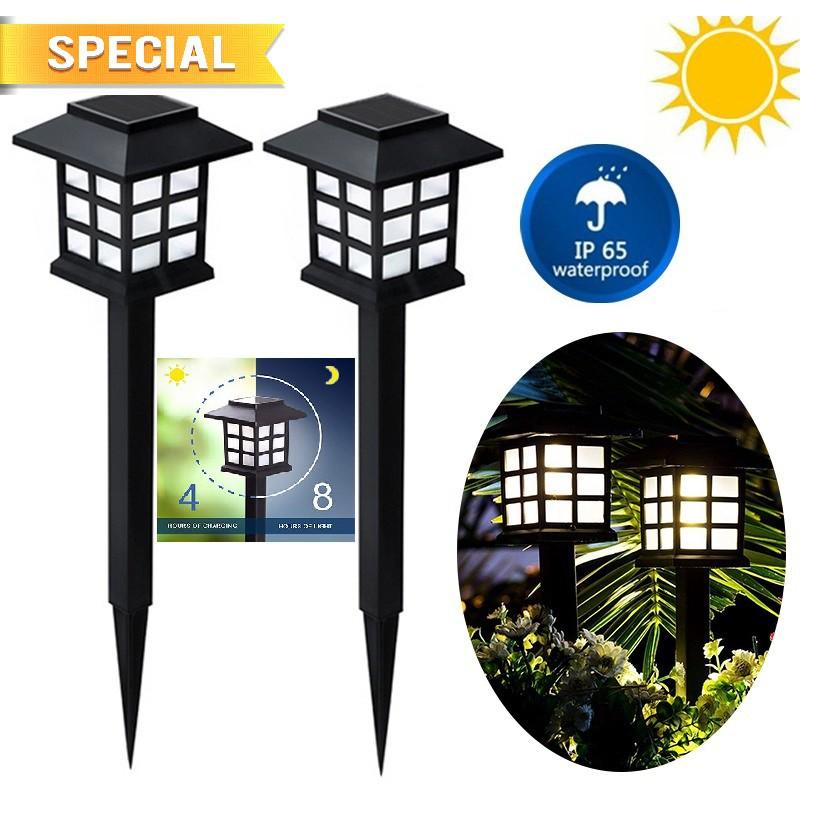 8pcs Solar Light Pathway Lights Outdoor, Solar Outdoor Lamp Malaysia