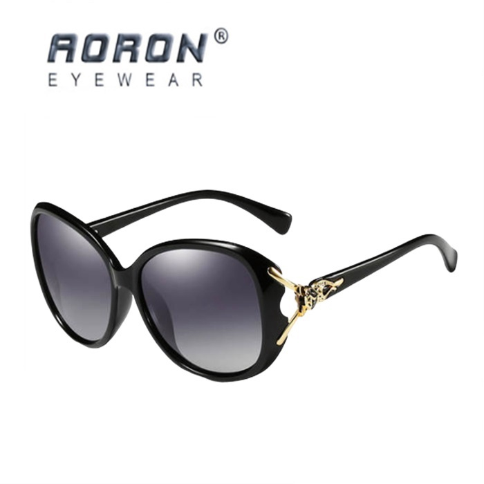 💥New💥AORON Cermin Mata Hitam Wanita Womens Polarized Sunglasses UV400 Eyeglasses