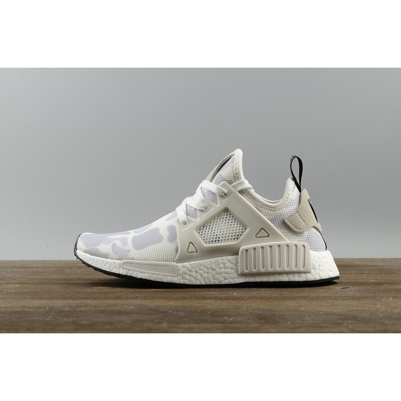 quality design 6d7da ce131 Retail Adidas NMD XR1 White camouflage Running Shoes