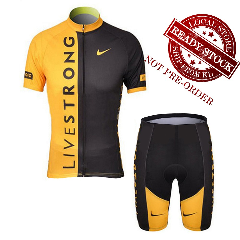 🔥⟨READY STOCK⟩🔥Men Cycling Jersey Bicycle Clothing Breathable cycling  clothes  9410cc82d