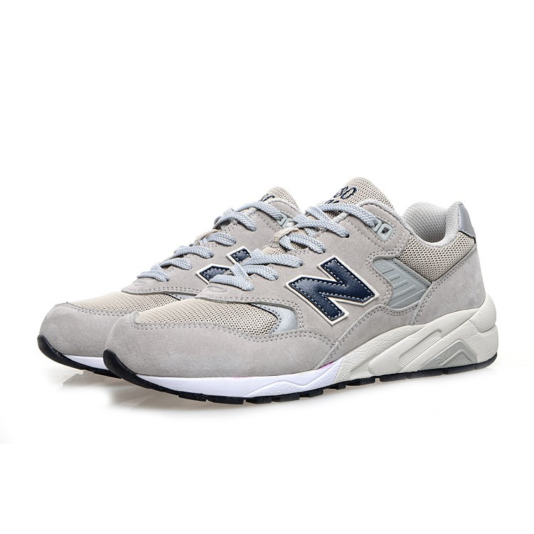 buy online aea89 1d4a2 New Balance 580 nb580 light grey men and women sport running breathable  shoes