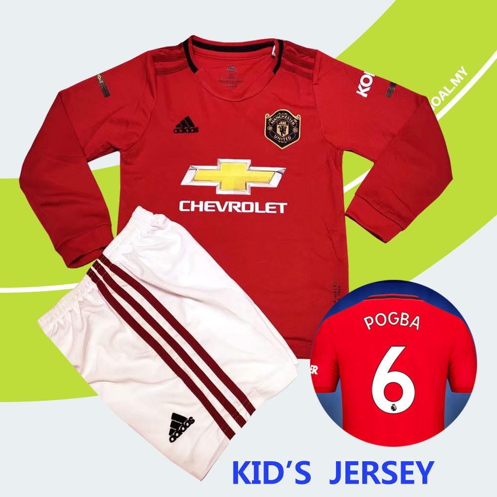 18//19 Football Club Soccer Team Kids Mens Sports Long Sleeve Jersey Kits+Socks