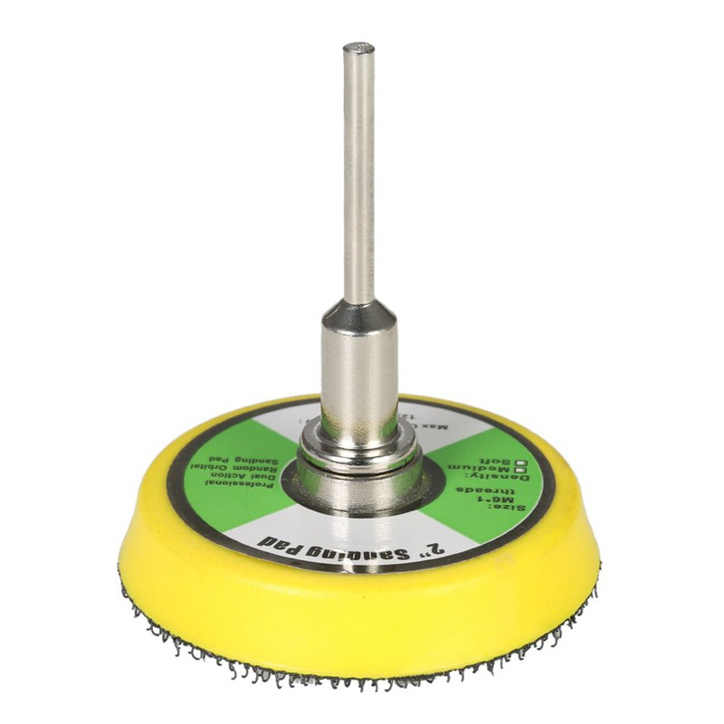50mm pad Sanding Disc Shank Kit Polish Tool For metals Iron Aluminum Ceramics