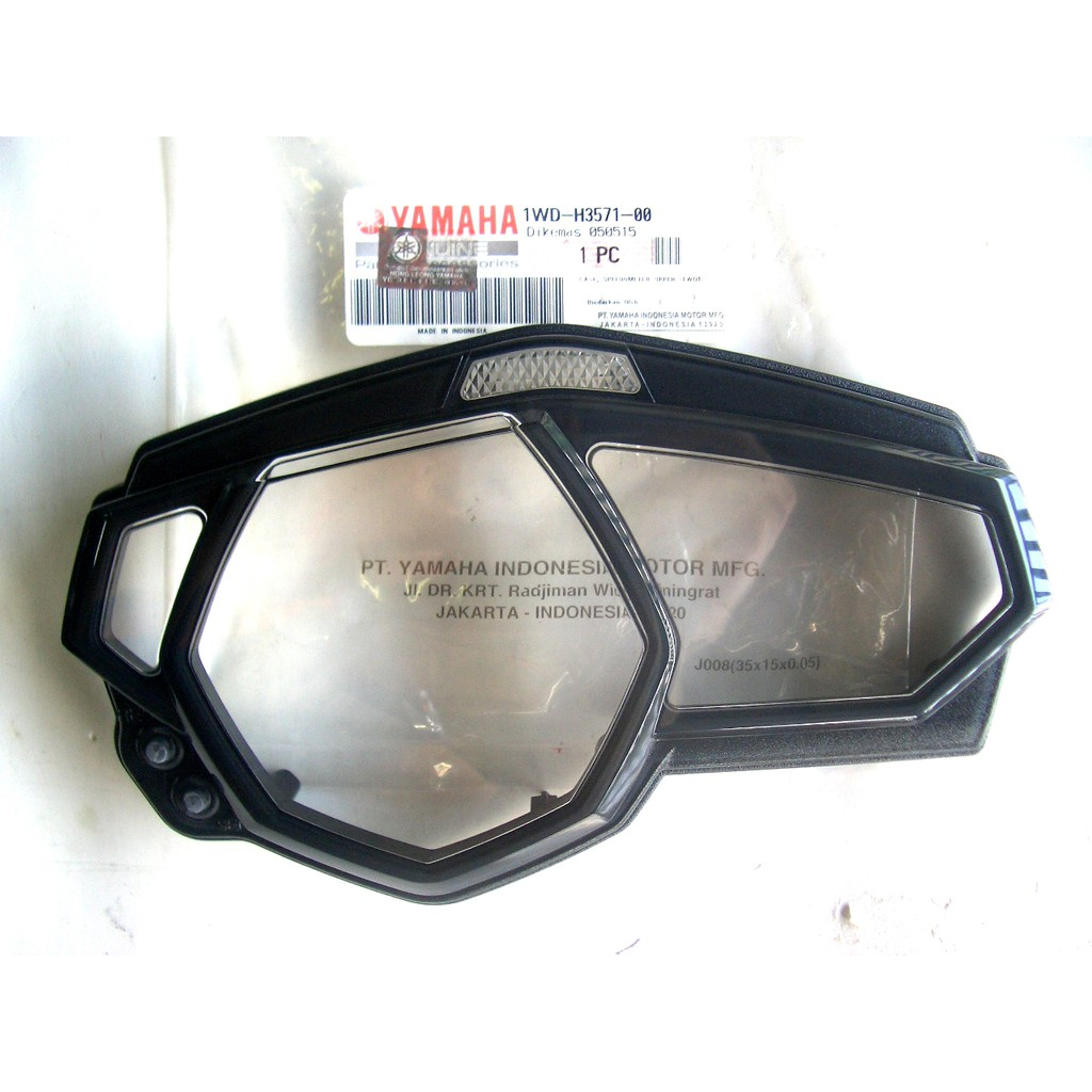 Yamaha R25 Case Upper Speedometer / Cover Meter / Cermin Meter 100%  Original Yamaha Genuine Parts