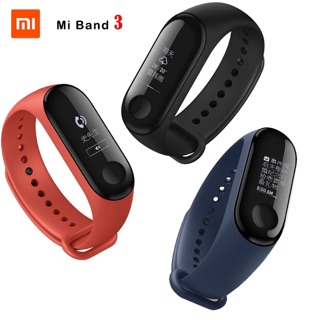 FREE GIFTS ! ] Xiaomi Mi Band 3 Smart Wristband Fitness Tracker OLED