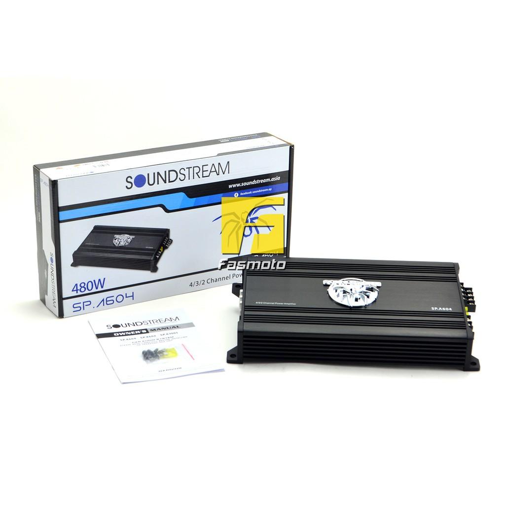 Broz Soundstream Spa3001 Class D 1 Channel Power Amplifier 500w Kenwood Kacps647 Pro Series Wiring Kit Shopee Malaysia