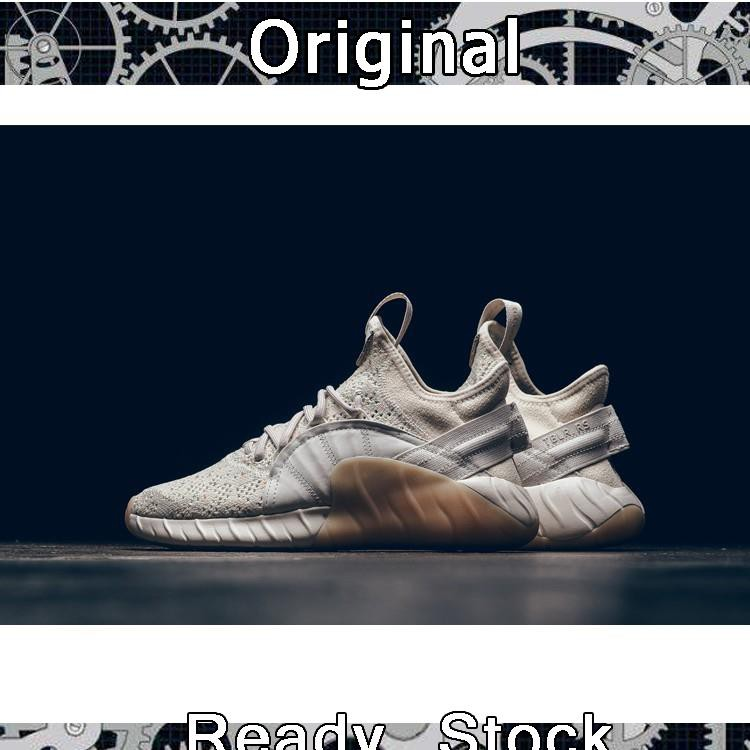 authentic Adidas Tubular CQ1378 Rise couples leisure men and women running√
