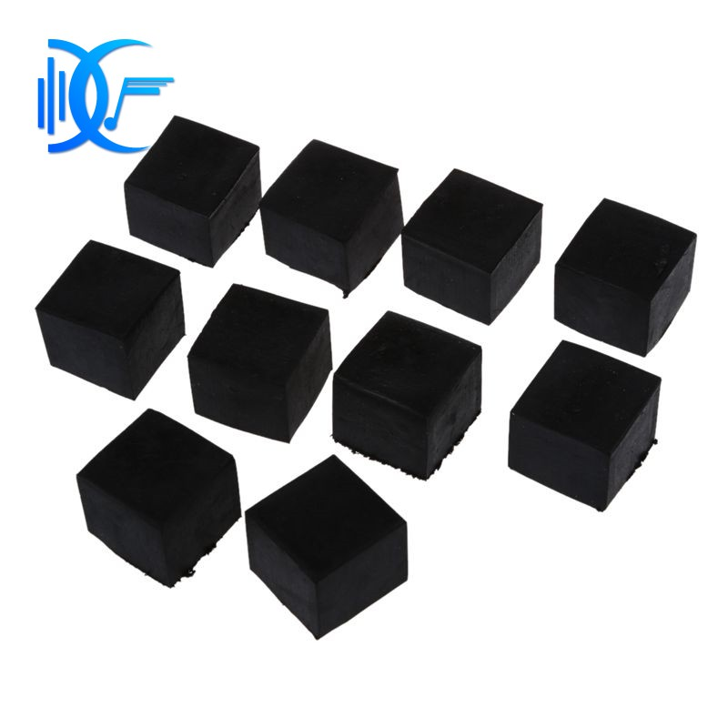 Cheapest Chair Furniture Square 12mmx12mmx6mm Self Adhesive Rubber Pads 12 In 1 Tools