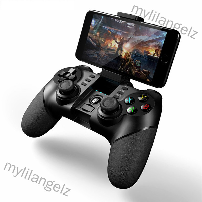 Mylilangelz Wireless Bluetooth Game Controller for iPhone Android Phone Tablet PC Gaming Controle Joystick Gamepad Joypa