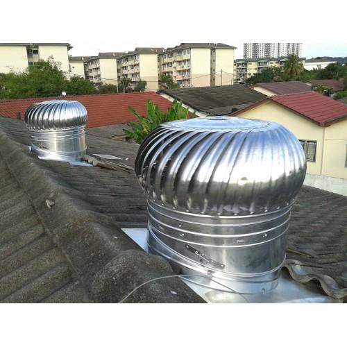 Us Wind Turbine Ventilator 24 Inch With Installation Shopee Malaysia