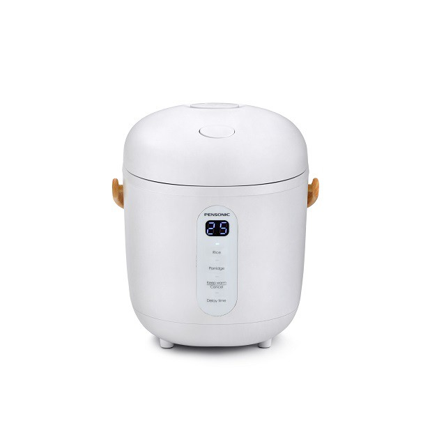 Online Exclusive Pensonic Mini Rice Cooker |0.3L, Portable, LED & Quick Heating Element | PSR-301SX