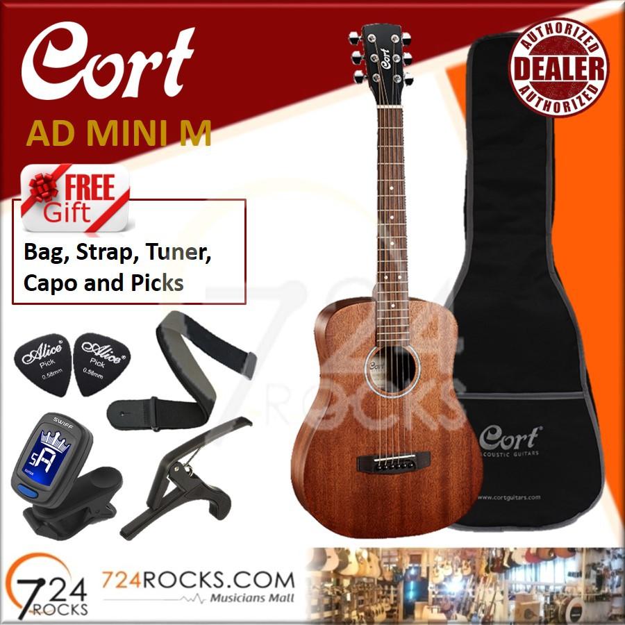 c76473b595 ProductImage. ProductImage. Cort AD Mini M Standard Series 3/4 Travel Acoustic  Guitar