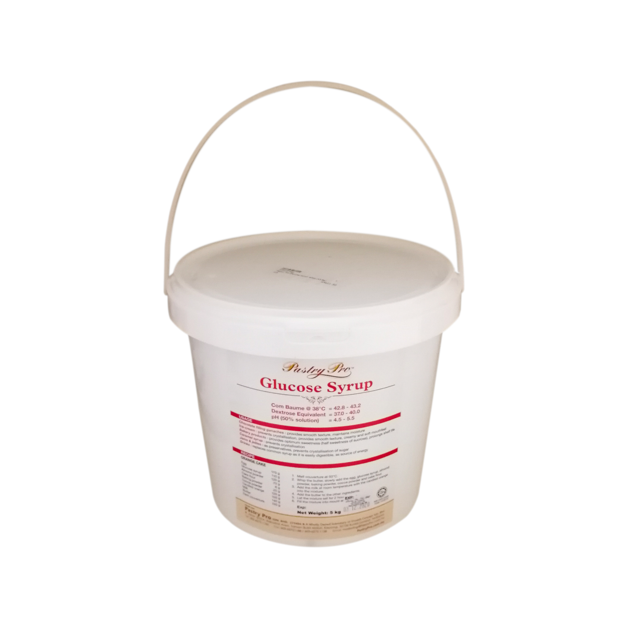PASTRY PRO, Glucose Syrup, 5 kg