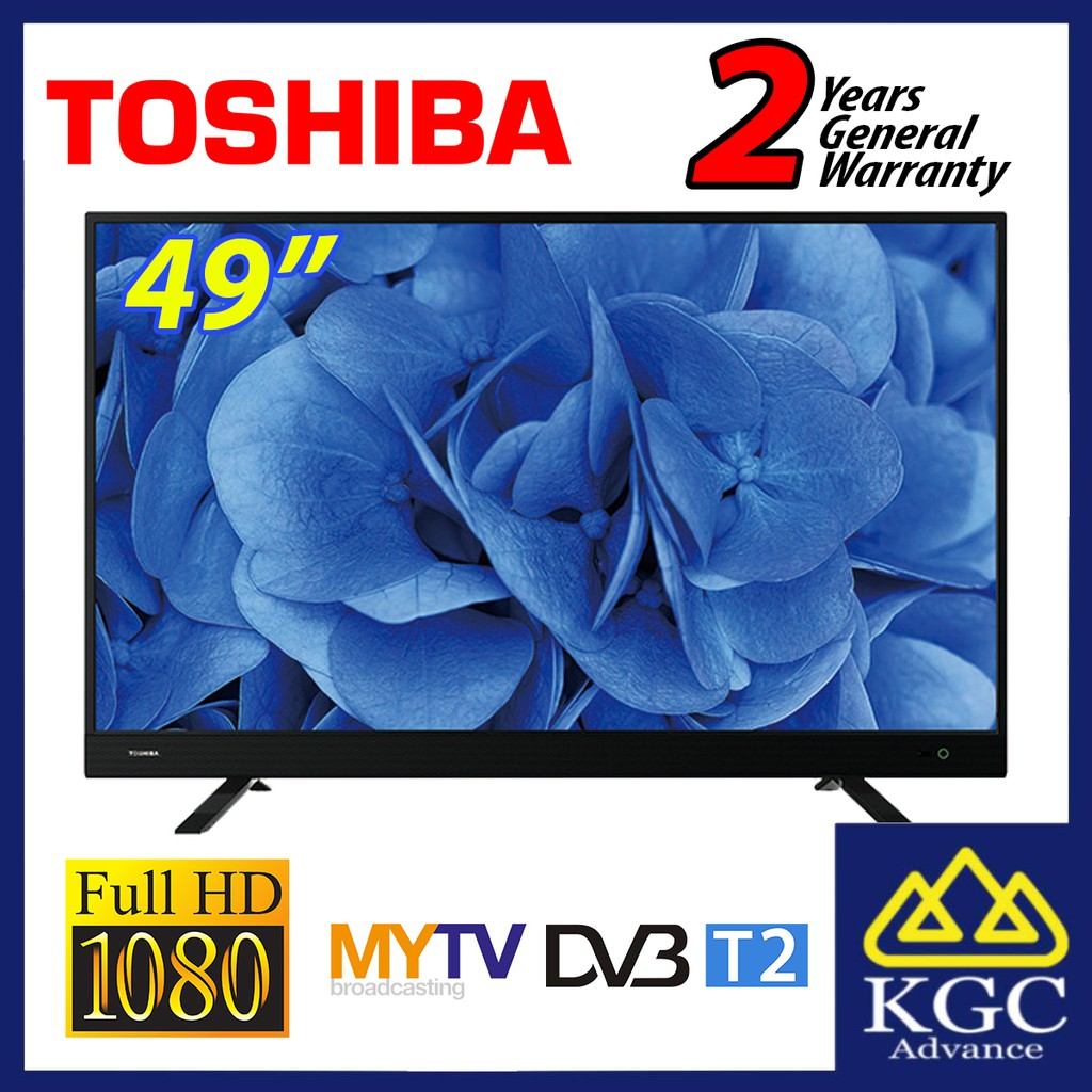 "Toshiba 49"" DVBT2 Full HD LED TV 49L3750VM"