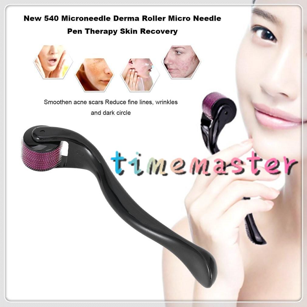 Fancyqube 540 Micro Needle Derma Roller Dermaroller Therapy Skin | Shopee Malaysia