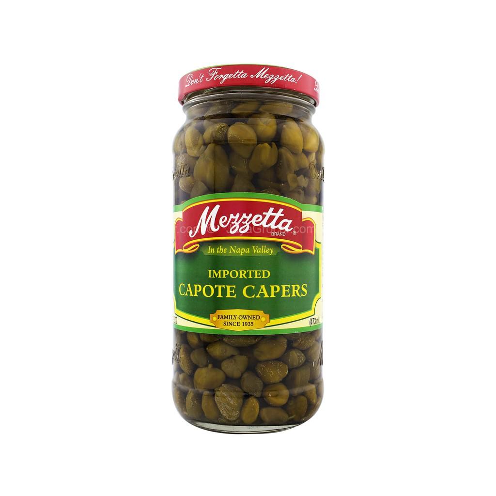 Mezzetta Capote Capers 473ml ACAR KAPER IMPORT USA HALAL