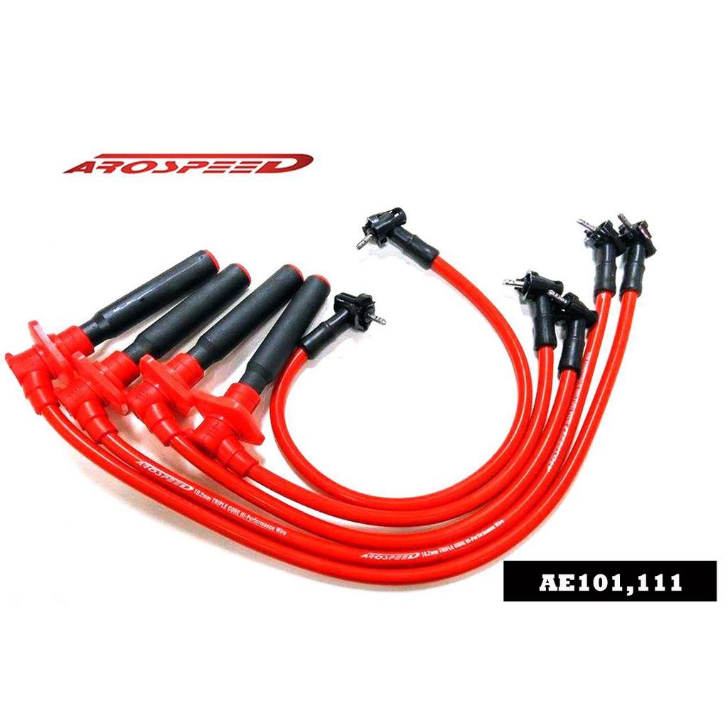 Arospeed Tri Spark Plug Cable Toyota AE101/111 4Age (20V)