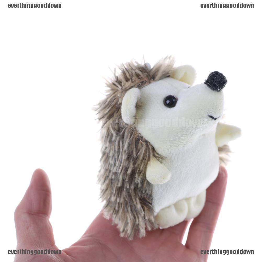 Details about  /10CM Kawaii Hedgehog Animal Plush Stuffed Toy Dolls Key Chain pendant SG