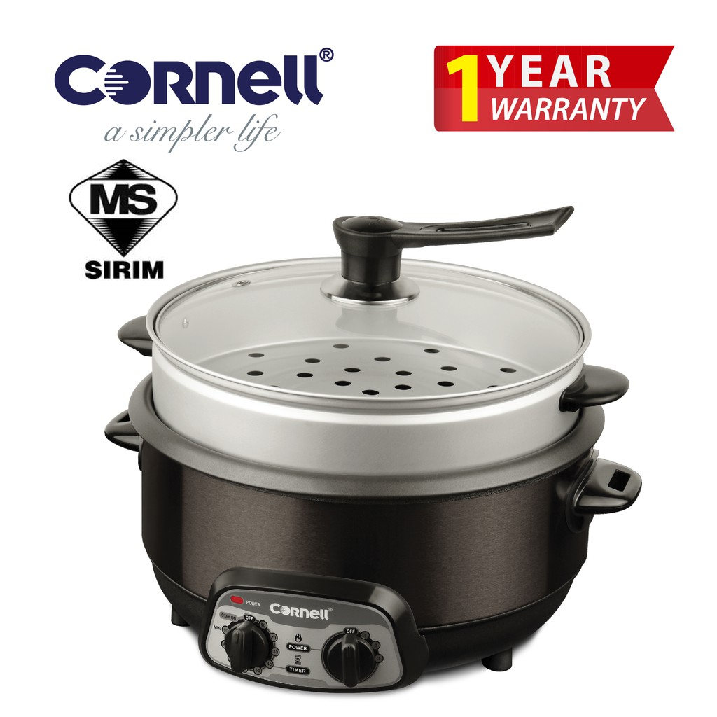 Cornell Multi Cooker (4.2 L) CMC-EL423ST|Stewing, Steaming, Stir Frying and Deep Frying