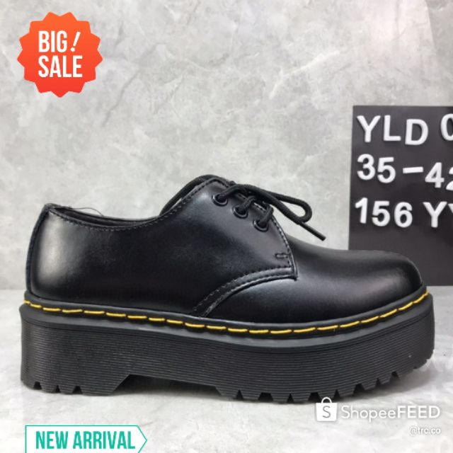 💥PREMIUM💥DR. MARTENS LOW TOP FIRST LAYER COWHIDE LEATHER CASUAL SHOES