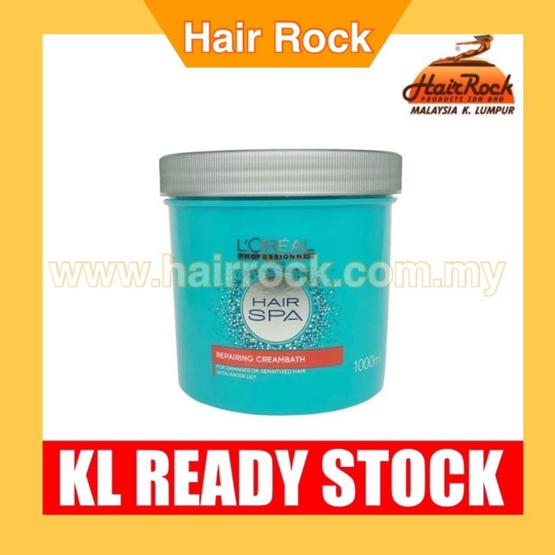 L'oreal Hair Spa REPAIRING Creambath - 1000ml (Latest Packaging)