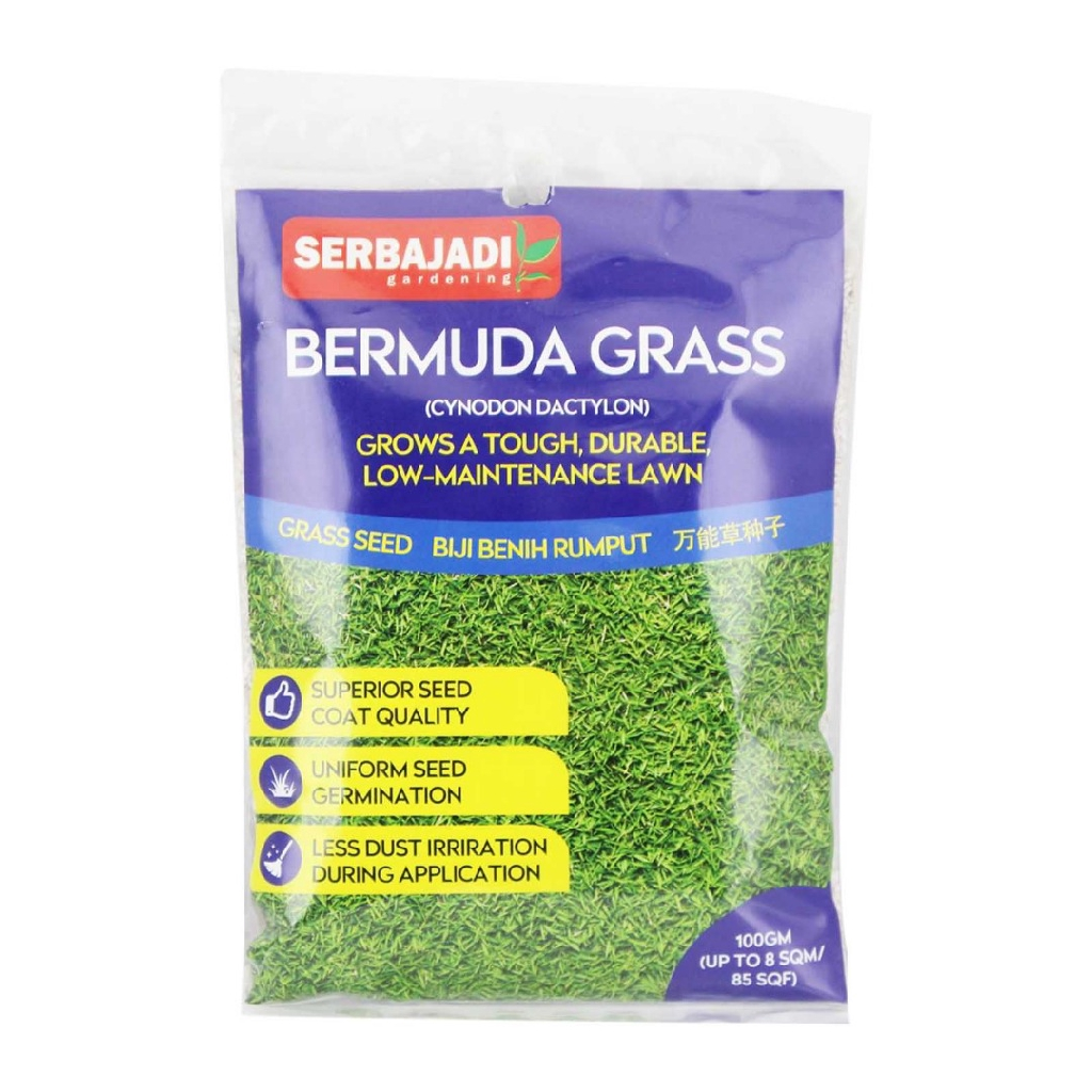 Serbajadi Bermuda Grass Seeds (100g)