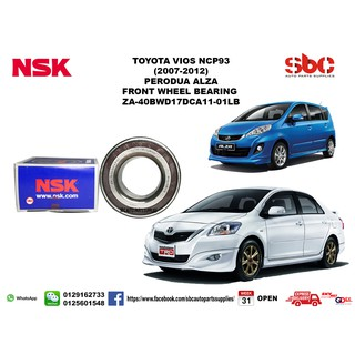READY STOCK] Toyota Vios NCP93 Front Wheel Bearing | Shopee