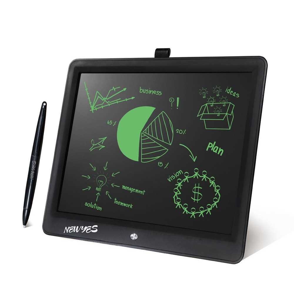 15in Portable Thin Writing Tablet for Kids Office LCD Writing Handwriting Pads Tablet Children Drawing Mini Blackboard