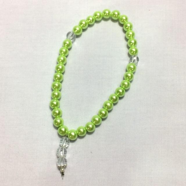 Tasbih Mutiara (Light Green)