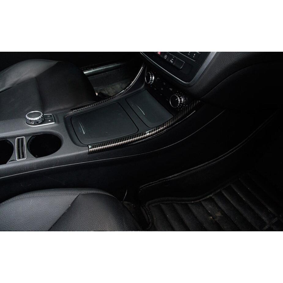 Mercedes A-Class CLA AMG Carbon Fibre Vinyl Interior Trim+Key Styling Stickers