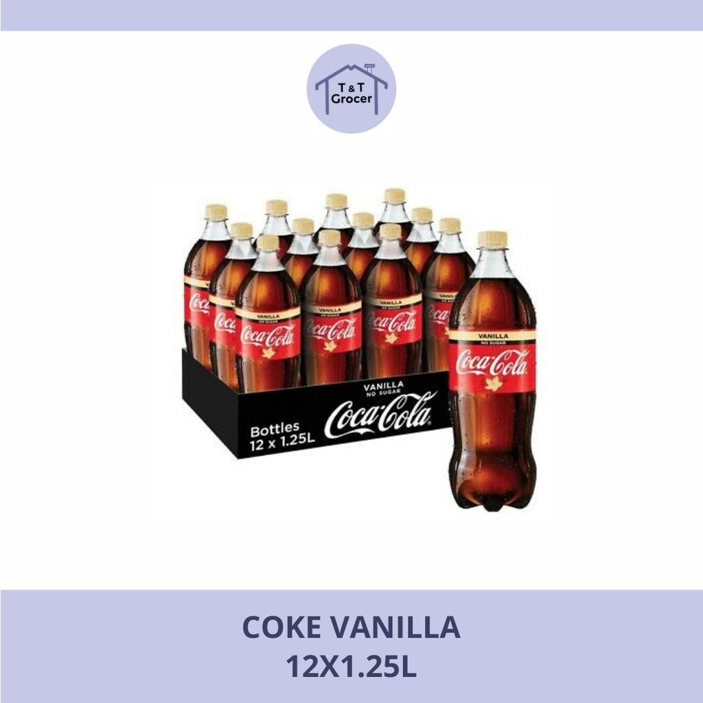 Coke Vanilla 12x1.25l