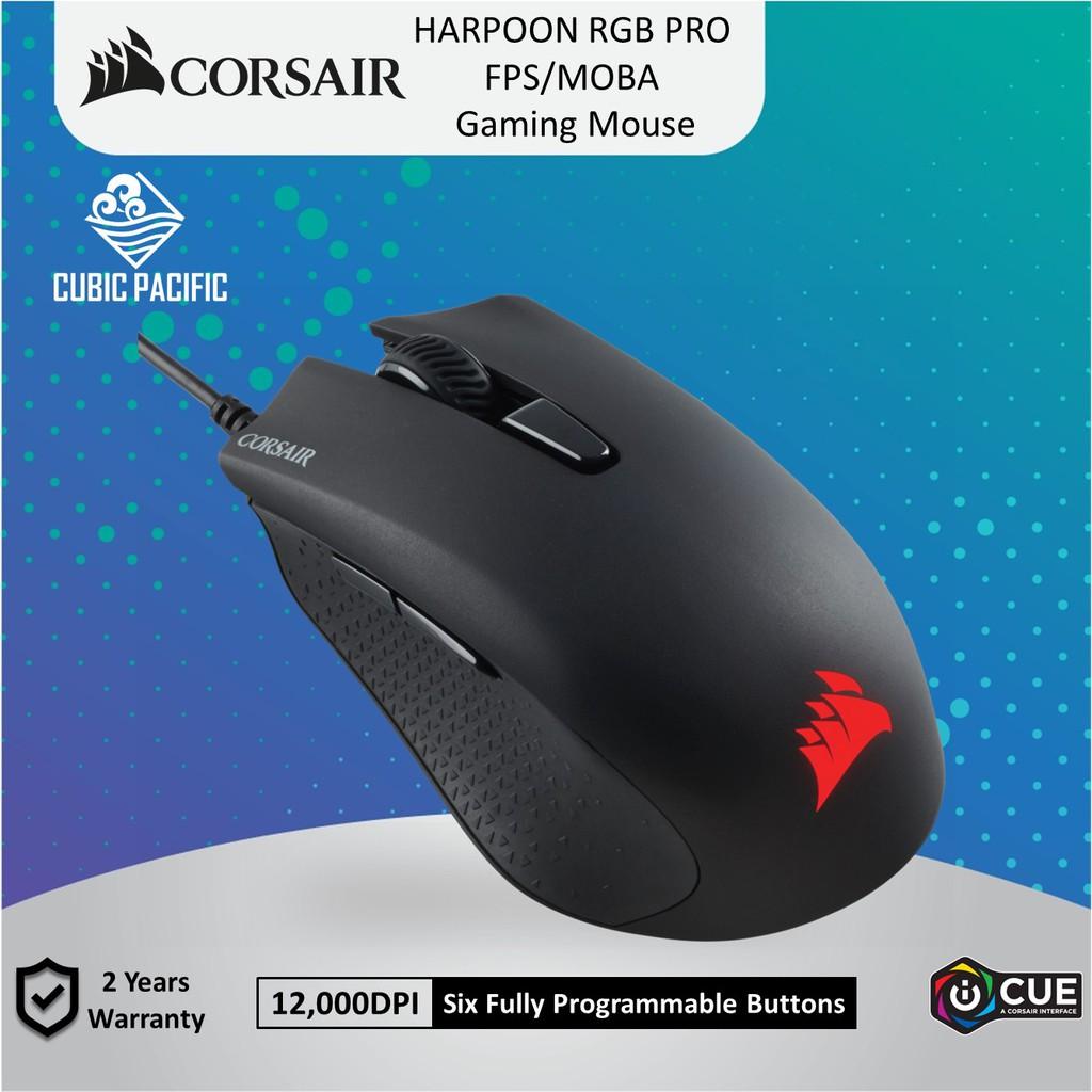 CORSAIR HARPOON Pro RGB 12,000DPI Gaming Mouse CH-9301111-AP