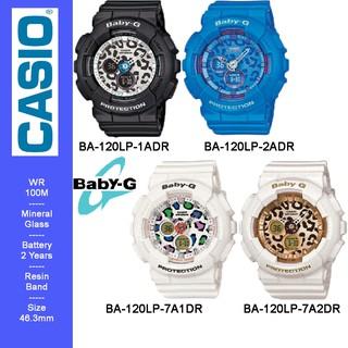 ... BABYG CASIO BA-120LP SERIES RESIN BAND LADIES WATCH. like: 0